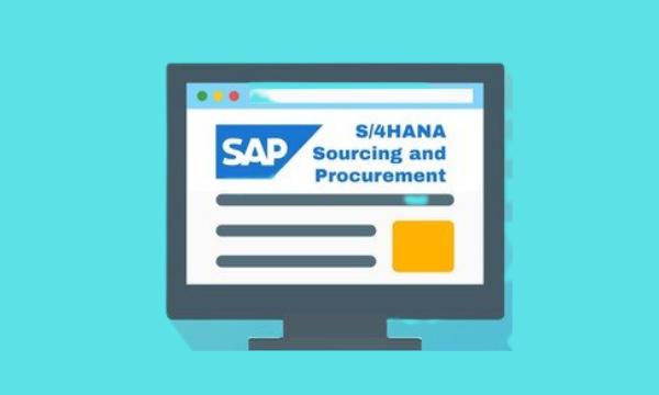 SAP S4HANA Sourcing and Procurement