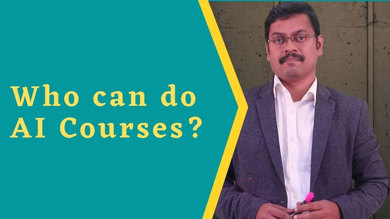 Who can learn artificial intelligence and machine learning course?